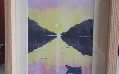 How to: Paint a Sunset with Belfield Art Group