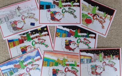 Co-operative Christmas Cards for Care Homes